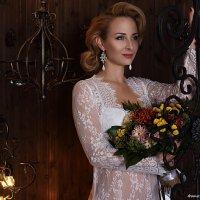 Фотосессия сборов невесты в студии :: Анастасия Тищенко