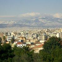 Вид на горы (Афины) :: Оля Богданович