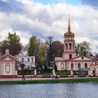 Храм Воздвижения Креста Господня в Алтуфьево. :: Юрий Шувалов