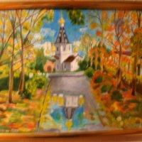 Храм божий в Медвежьих Озерах. :: Василий Пучкин