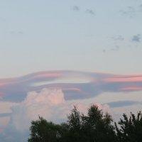 Инопланетное  облако :: Наталья Чернушкина