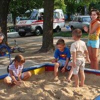 В песочнице :: Нина Корешкова