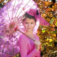Настя и осень :: Игорь Юрьев