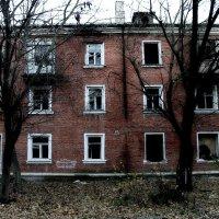 Умирающие дома.. :: ЕВГЕНИЯ