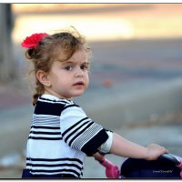 Девочка с коляской. :: Leonid Korenfeld