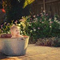 купание по старинке :: Альбина