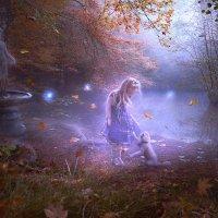 Misty lake :: Irina Safronova