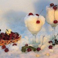 Вишня, вишня, зимняя вишня.Прекрасен ягод аромат :: Павлова Татьяна Павлова