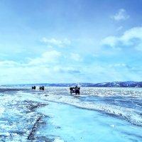 Мотоэкспедиция по льду Байкала :: Нина