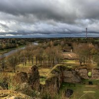 View from the Bauska Castle ruins (301016) :: Arturs Ancans