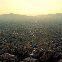 Вид с Ликавитоса на Афины. :: Оля Богданович
