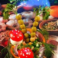 Фантазии салатные :: Андрей Заломленков