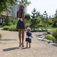 Мама и доча :: Виктория Большагина