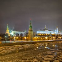 Зимние мотивы реки :: Игорь .
