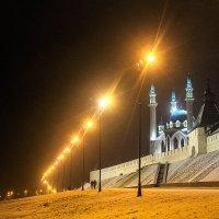 Вид на Казанский Кремль вечером. :: Ирина Будагова