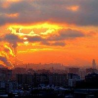 Рассвет над Москвой :: alek48s