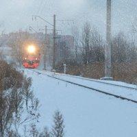 Приближение поезда :: Наталия П