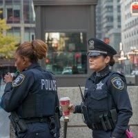 Решительный взгляд полицейского :: MVMarina