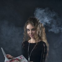 В дыму :: Женя Рыжов