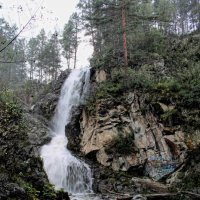 камышлинмкий водопад Алтай :: navalon M