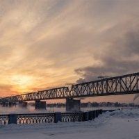 Зимний вечер на Михайловской набережной :: cfysx