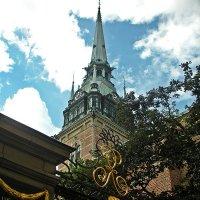 Прогулки  по  Стокгольму. Шпиль  в  небо ! :: Виталий Селиванов