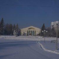площадь в снегу :: Alexandr Staroverov