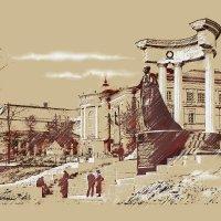 Москва Памятник Александру Второму у Храма Христа Спасителя. :: В и т а л и й .... Л а б з о'в