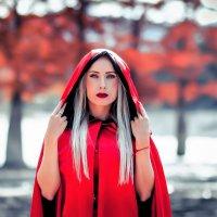 Красная шапочка :: Марина Алексеева