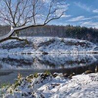 зимний пейзаж в ноябре :: юрий иванов