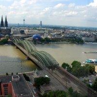 Гогенцоллернский мост через Рейн. :: Anna Gornostayeva