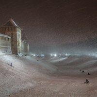 Дети с удовольствием катаются на лыжах ) :: Олег Фролов