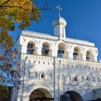 Осень в Новгородском Кремле (этюд 28) :: Константин Жирнов