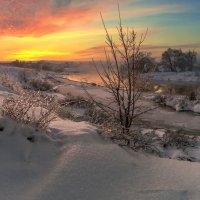 Закат над Москвой рекой. :: Сергей