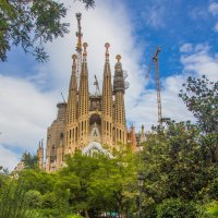 Temple Sagrada Familia Barselona :: Евгений Леоненко