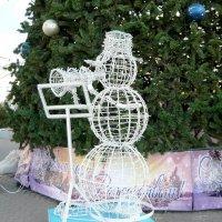 Снеговик-музыкант :: Надежда