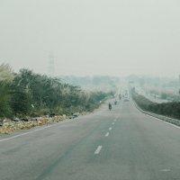 Дорога на Джайпур из Дели :: Станислав Маун