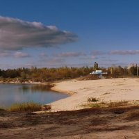 пустой осенний пляж :: Александр Прокудин
