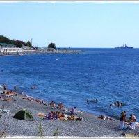 На побережье... :: марк
