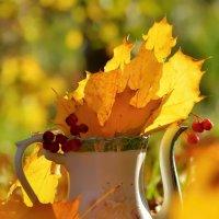 Кувшинчик с осенью :: Olcen - Ольга Лён