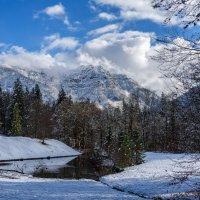 Первый снег в Альпах.. :: Виктор Льготин