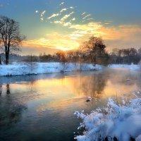 Морозный закат...3. :: Андрей Войцехов