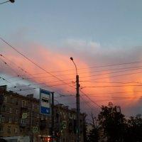Красный крокодил солнце проглотил... :: Ольга ОК Попова