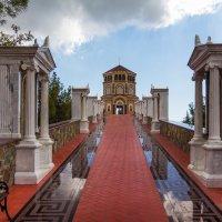 Кипр, часовня на вершине горы. :: Андрей Самсонов