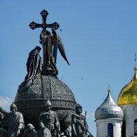 Памятник тысячелетию российской государственности в Великом Новгороде :: Анастасия Смирнова