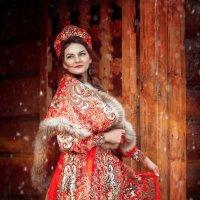 Русская красавица Ярослава :: Фотохудожник Наталья Смирнова