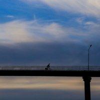 Вечереет..Мост через Сож.Гомель.Беларусь. :: Алексей Матюш