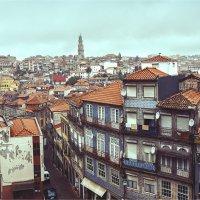 Взгляд на окрестности Порту в дождливый день :: Ирина Лепнёва