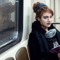 в метро :: Екатерина Белая