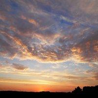 Вечерние облака! :: Андрей Буховецкий